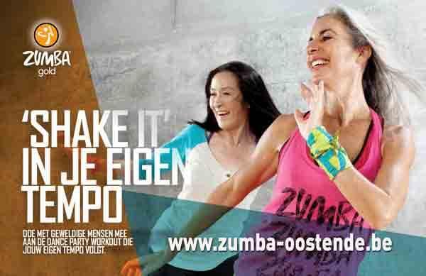 actieve oudere zumba gold fitness in oostende in vaca resorts ravelingen kinkhoorn
