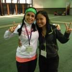 zumba instructor conference Los Angeles 2014 racquel bulleser en Fabiola S-h fabiola serra oostende vayamundi ravelingen