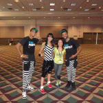 zumba instructor conference Los Angeles 2014 Lindsey Taylor en racquel bulleser