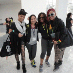 zumba instructor conference Los Angeles 2014 zumba jammer Catherine Chiemelu en LaToya Bufford en racquel bulleser 01