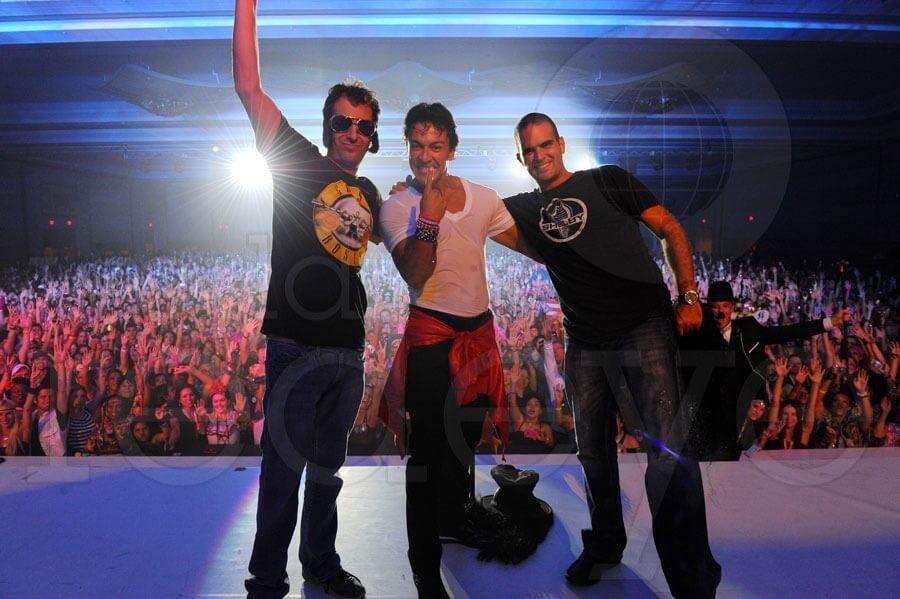 Zumba founders, Alberto Perlman  Alberto Perez  Alberto Aghion zumba fitness onderneming van het jaar 2012