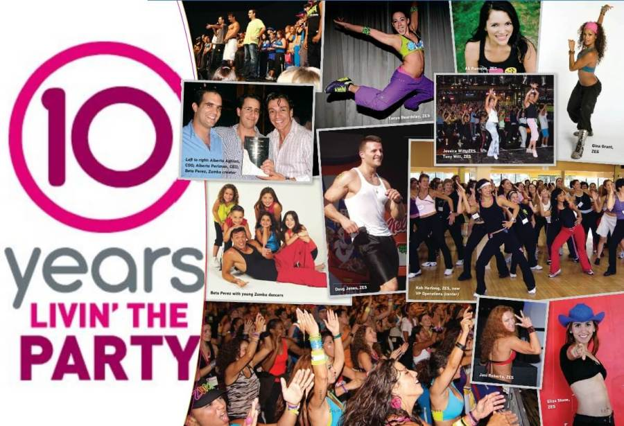 Zumba 10 Jaar livin the party
