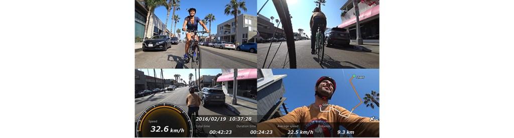 ソニーアクションカムによるスピードメーター設置動画
