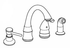 moen kitchen faucet low flow repair
