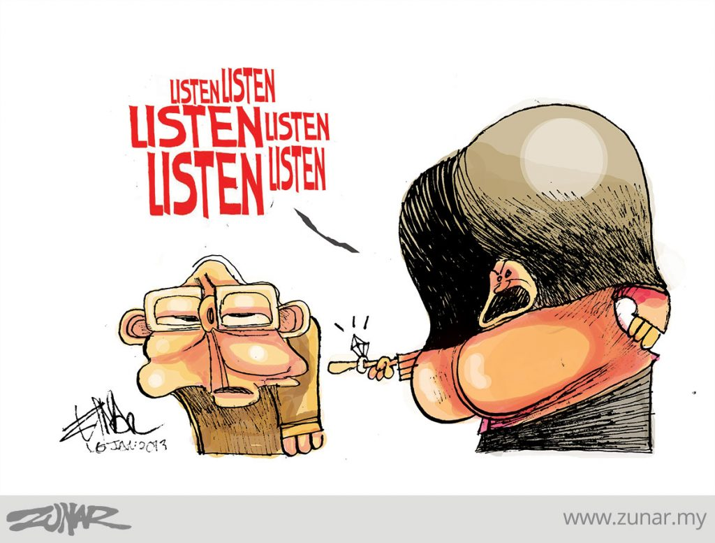 CARTOONKINI-LISTEN-NAJIB-16-JAN-2013-copy