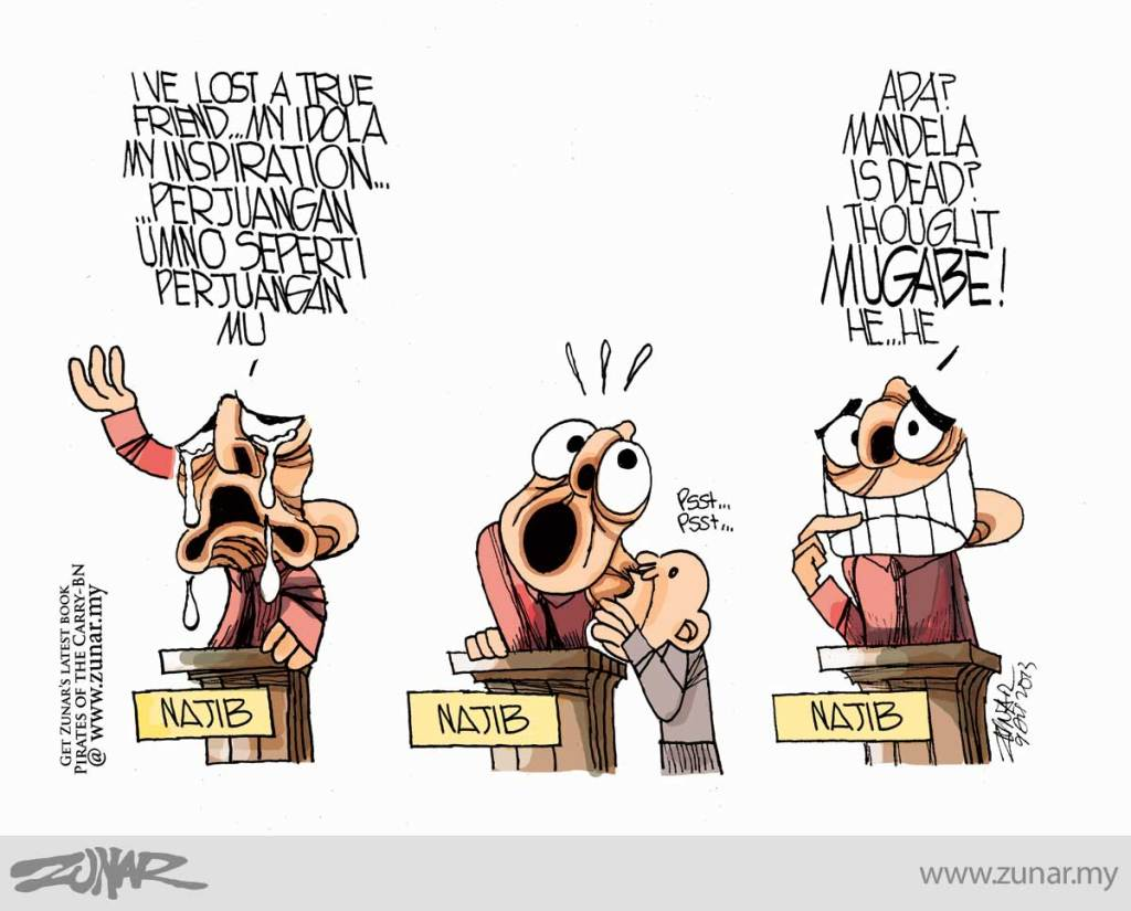 Cartoonkini-Najib-Mandela-9-Dis-2013