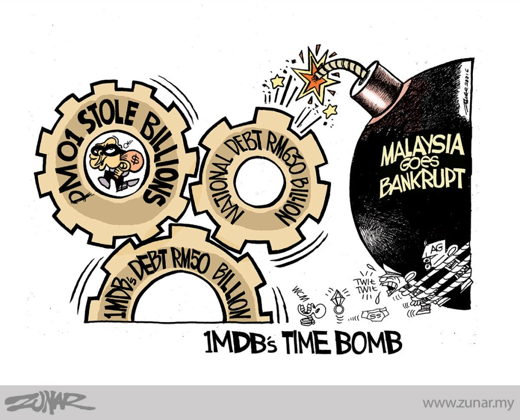 Cartoonkini-TIME-BOMB-1MDB-28-Aug-2016