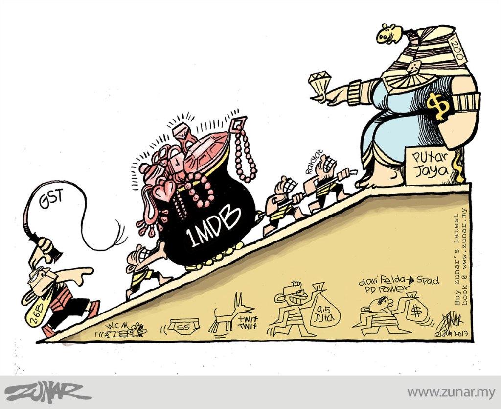 Cartoonkini-1MDB-Slave-21-June-2017