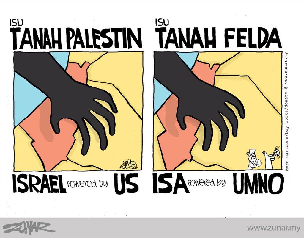 Cartoonkini-Isu-Tanah-Felda-28-Dis-2017