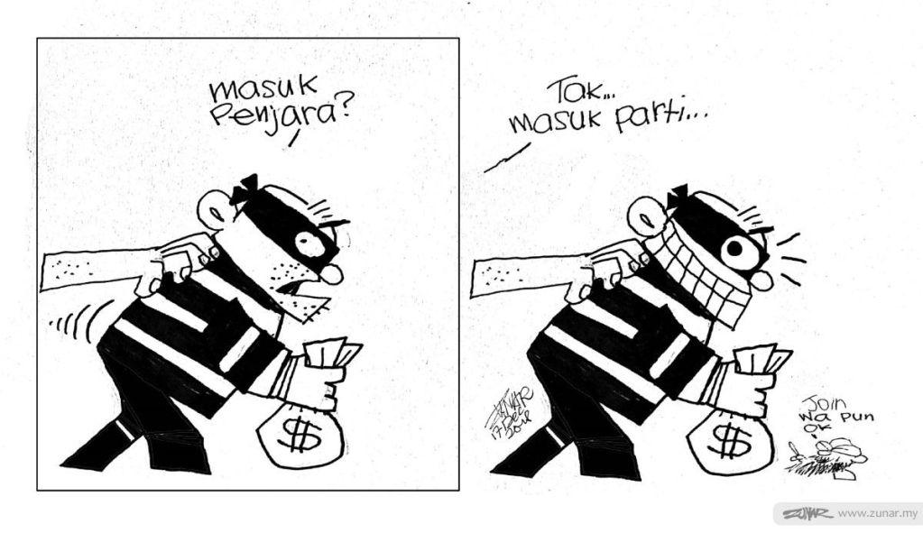 Cartoonkini Masuk Parti lagi
