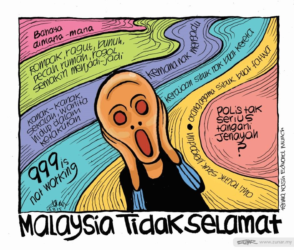 Cartoonkini Tak Selamat 14 August 2019