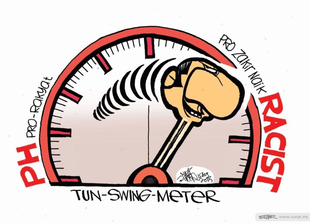 Cartoonkini Tun Meter 15 Aug 2019