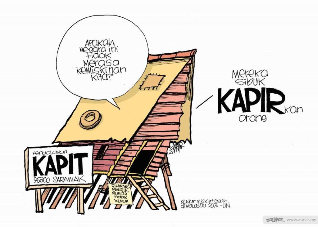 Cartoonkini KAPIR 4 Sept 2019