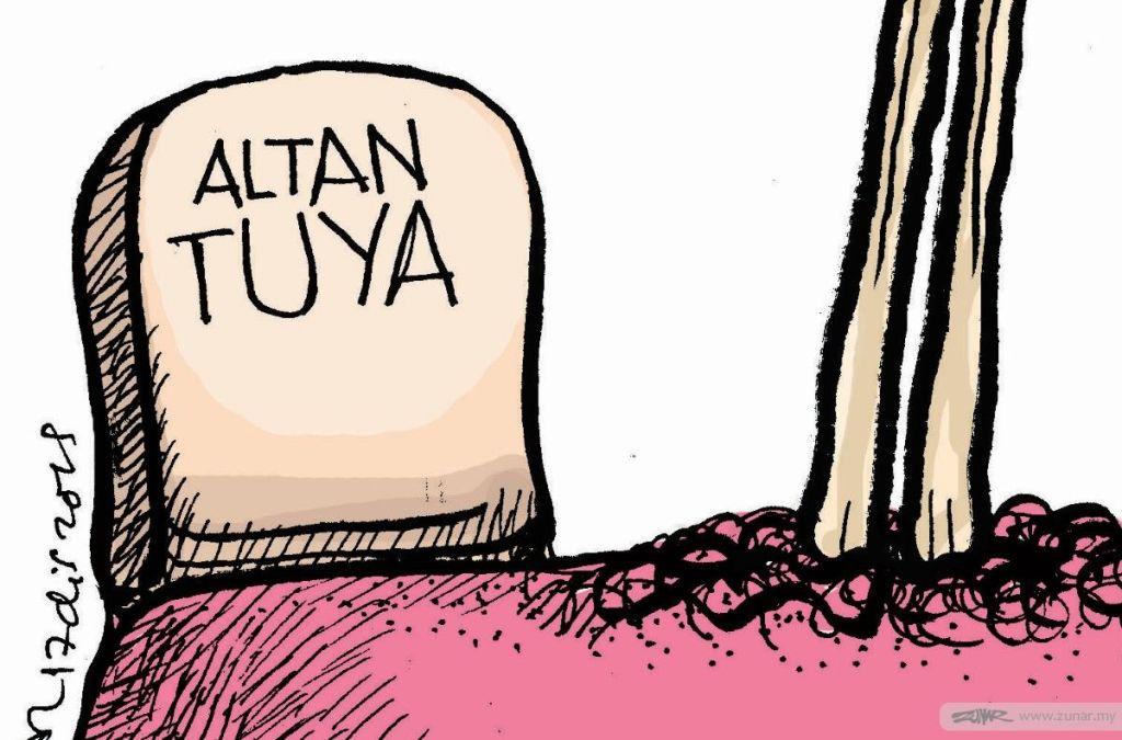 Cartoonkini JOIN ALTANTUYA 17 Dis 2019 (Custom)