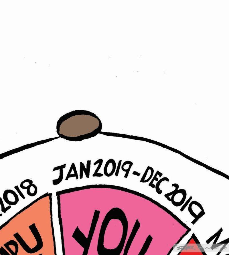 Cartoonkini Tun Meter 19 Dis 2019 (Custom)