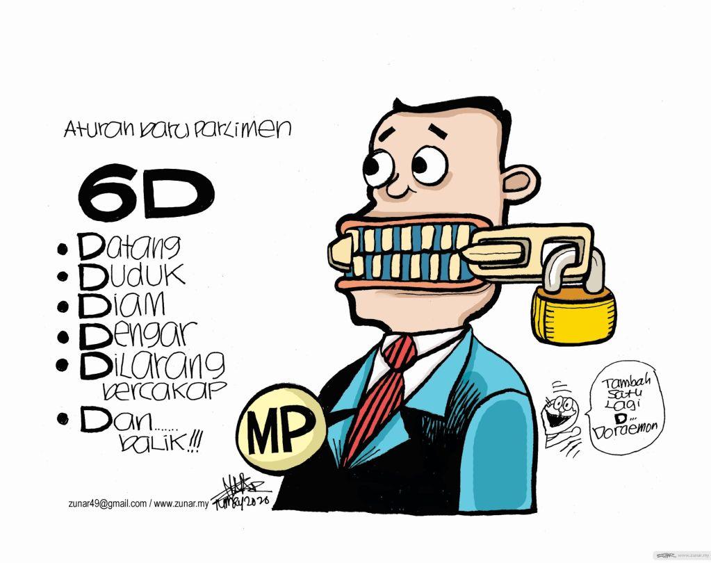 WEB Cartoonkini PARLIMENT ZIP 14 May 2020