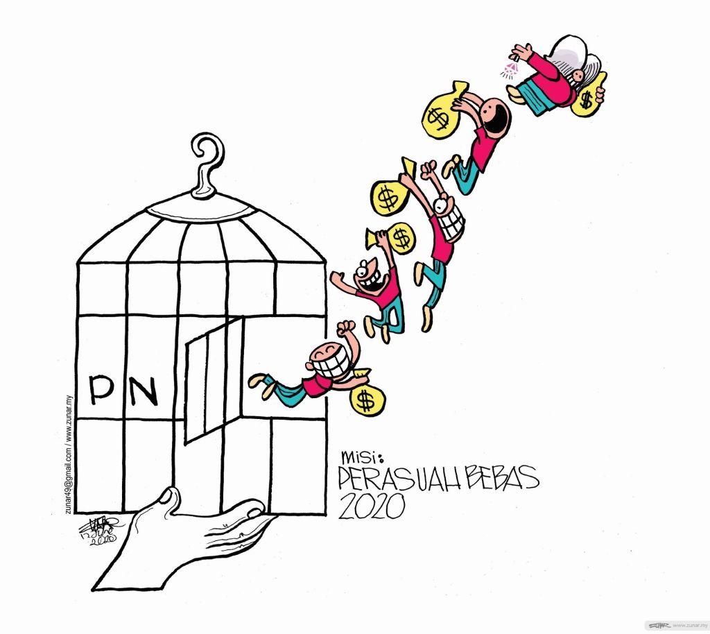 WEB Cartoonkini Misi bebas rasuah 12 Juen 2020 (Custom)