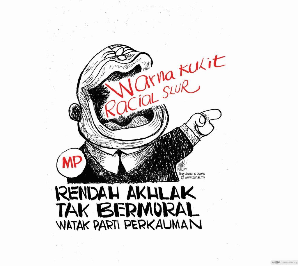 WEB Cartoonkini RACIST MP 15 JULY 2020 (Custom)