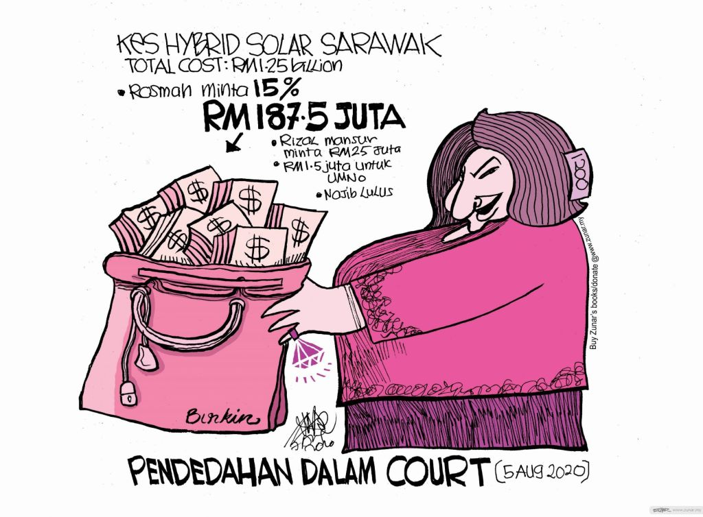 WEB Cartoonkini Court Rosmah 7 Aug 2020 (Custom)
