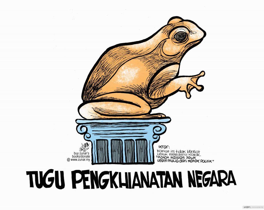 WEB Cartoonkini TUGU PENGKHIANATAN 2 Aug 2020 (Custom)