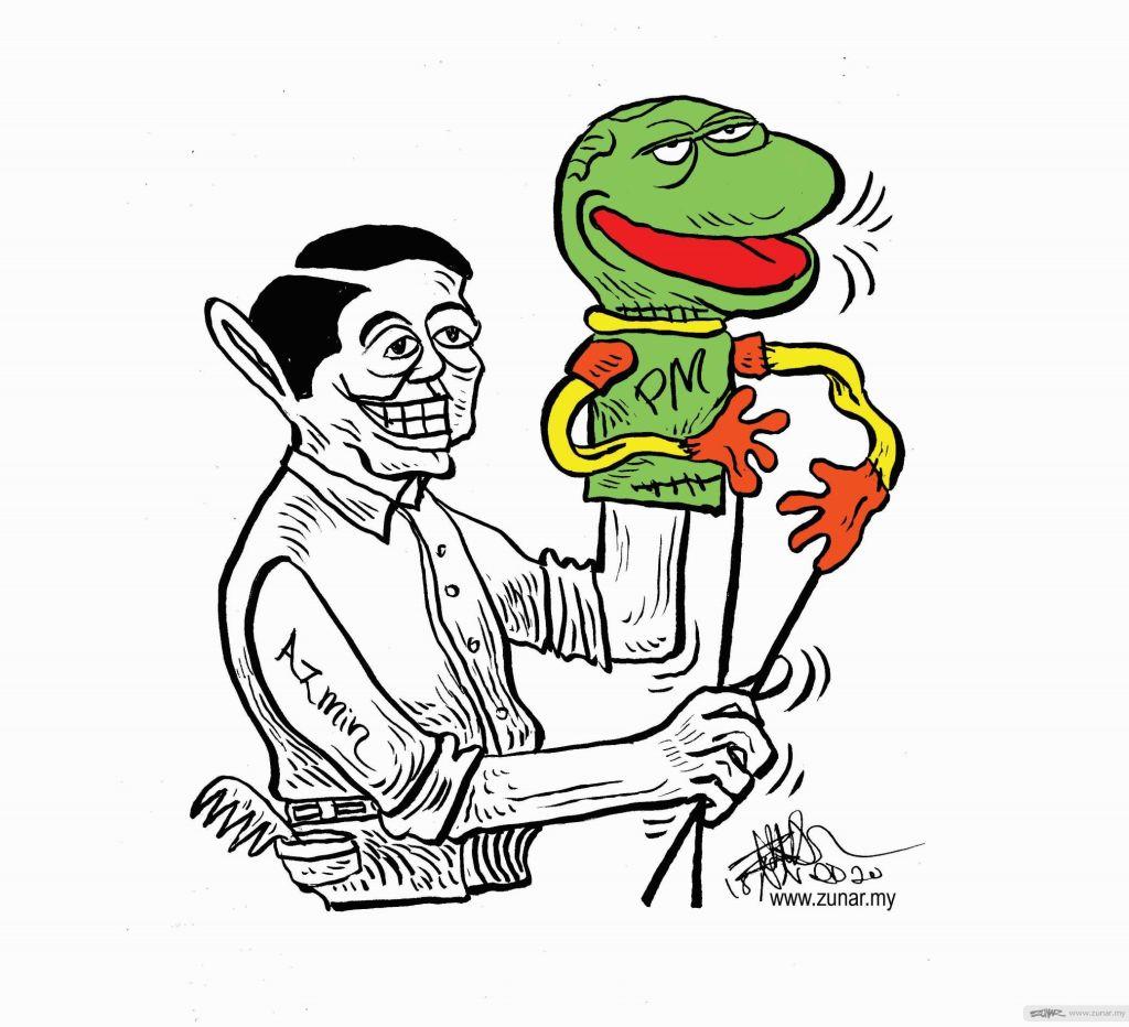 WEB Cartoonkini PUPPET MASTER 18 Oct 2020 (Custom)