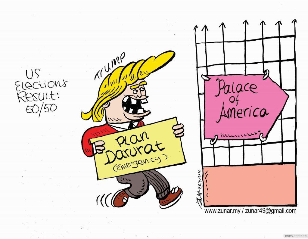 WEB Cartoonkini TRUMP ISTANA 6 ov 2020 (Custom) (Custom)