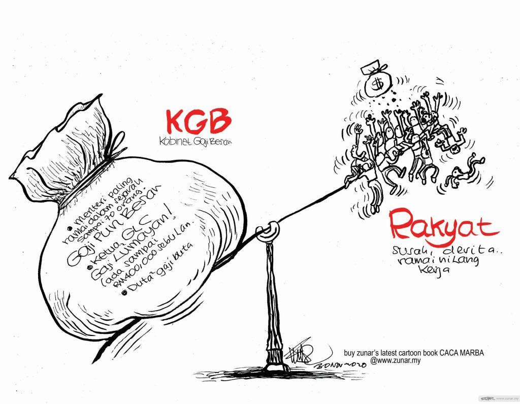 WEB Cartoonkini GAJI KABINET 30 Nov 2020 (Custom)