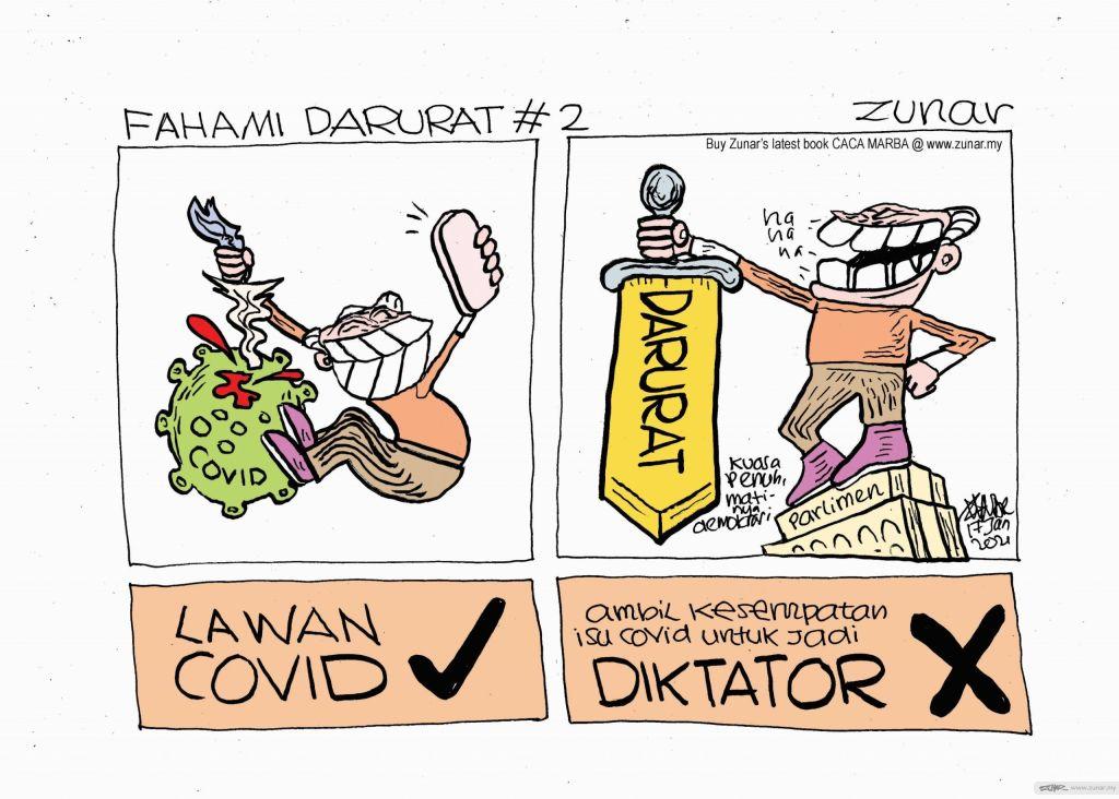 WEB CARTOONKINI #2 FAHAMAI DARURAT 17 Jan 2021 (Custom)