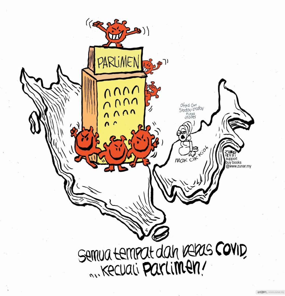 WEB Cartoonkini KECUALI PARLIMEN 18 Feb 2021 (Custom)