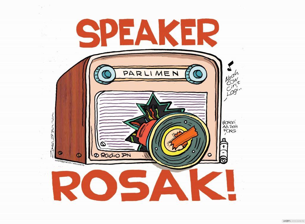 WEB Cartoonkini SPEAKER ROSAK 27 July 2021 (Custom)