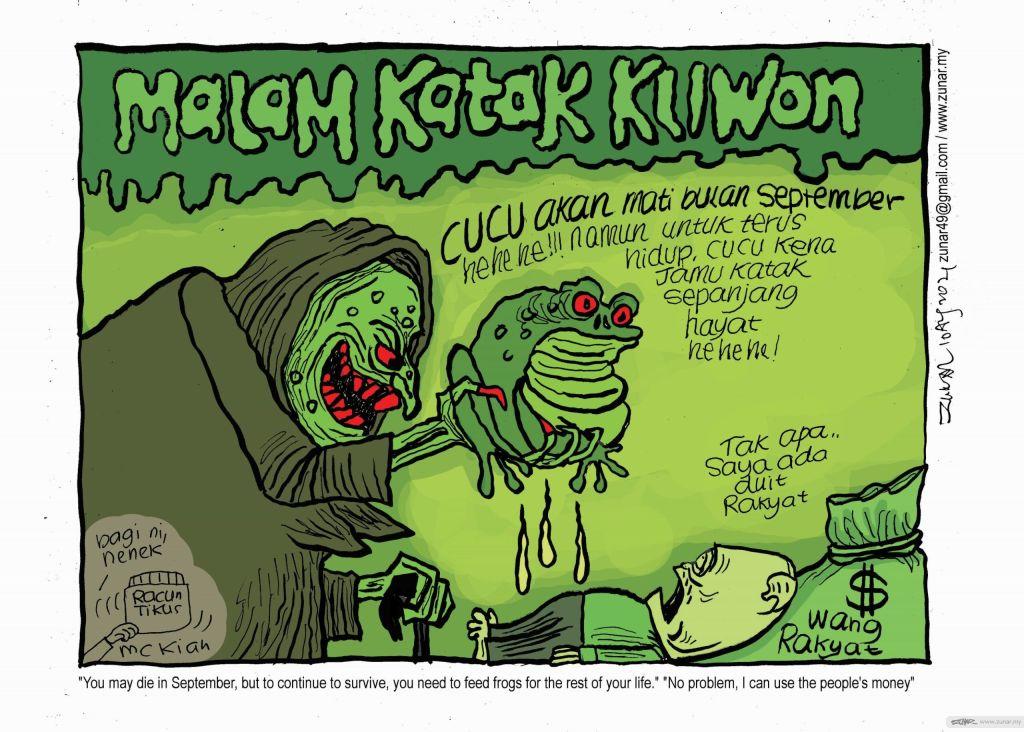 WEB Cartoonkini KATAK KLIWON 10 Aug 2021 (Custom)