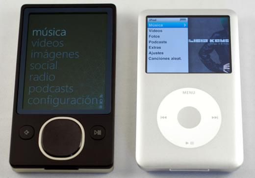 Zune 80GB vs iPod classic