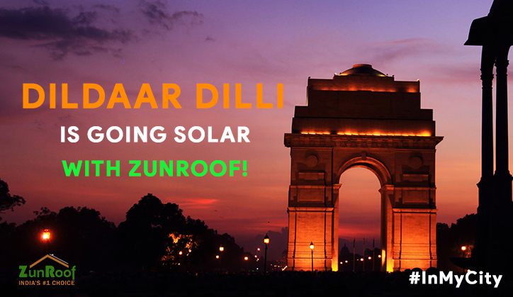 Dildaar dilli is going solar with ZunRoof