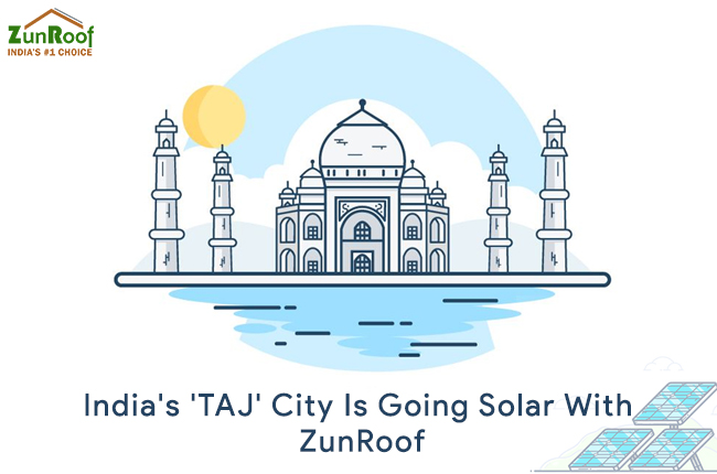 India's 'TAJ' City Is Going Solar With ZunRoof