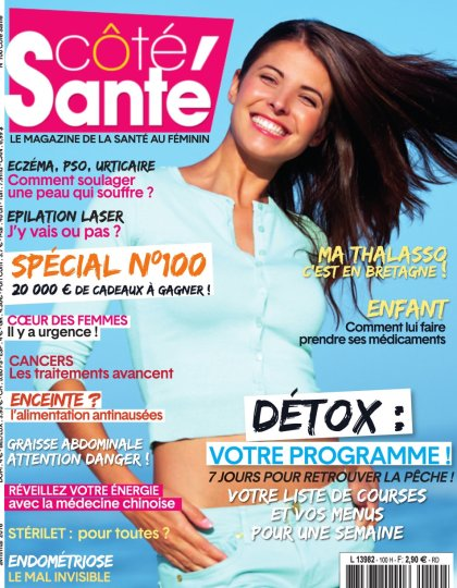 Côté Santé N°100 - Avril/Mai 2016