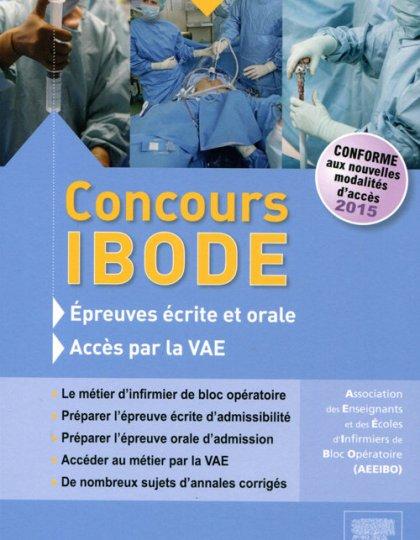 Concours Infirmier de Bloc Opératoire ( IBODE ) Épreuves écrite et orale