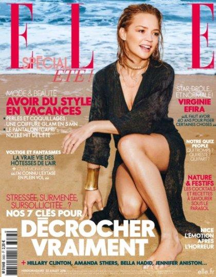 Elle France n°3683 - 22 au 28 Juillet 2016