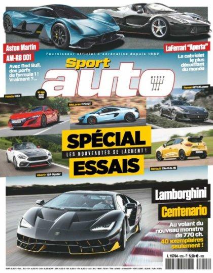 Sport Auto N°655 - Août 2016