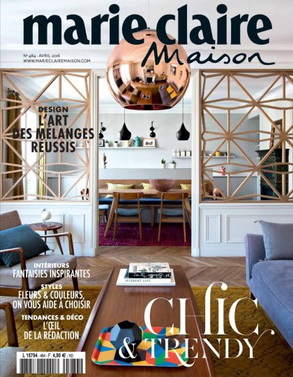 Marie Claire Maison N°484 - Avril 2016