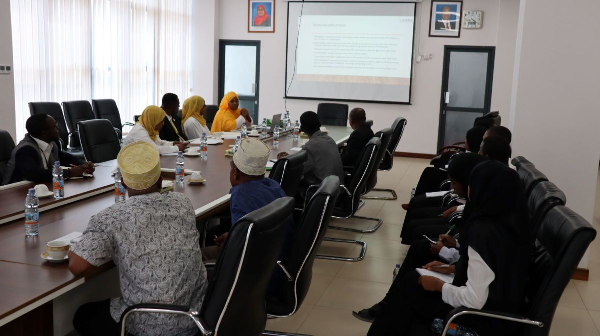 MEETING WITH LEQUIFIED PETROLEUM GAS (LPG) STAKEHOLDERS TO DISCUSS THE 2021 LPG RETAIL OUTLETS GUIDELINES