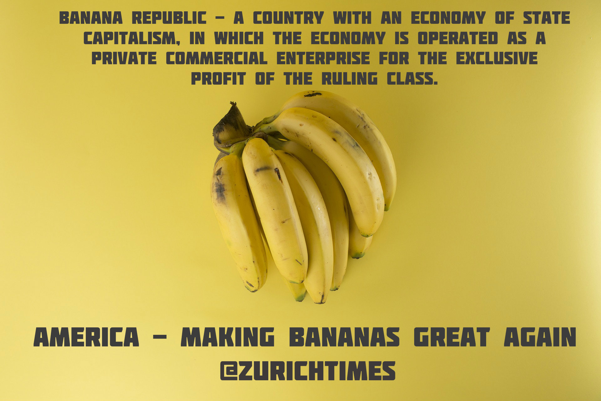 Image result for ROAD TO BANANA REPUBLIC