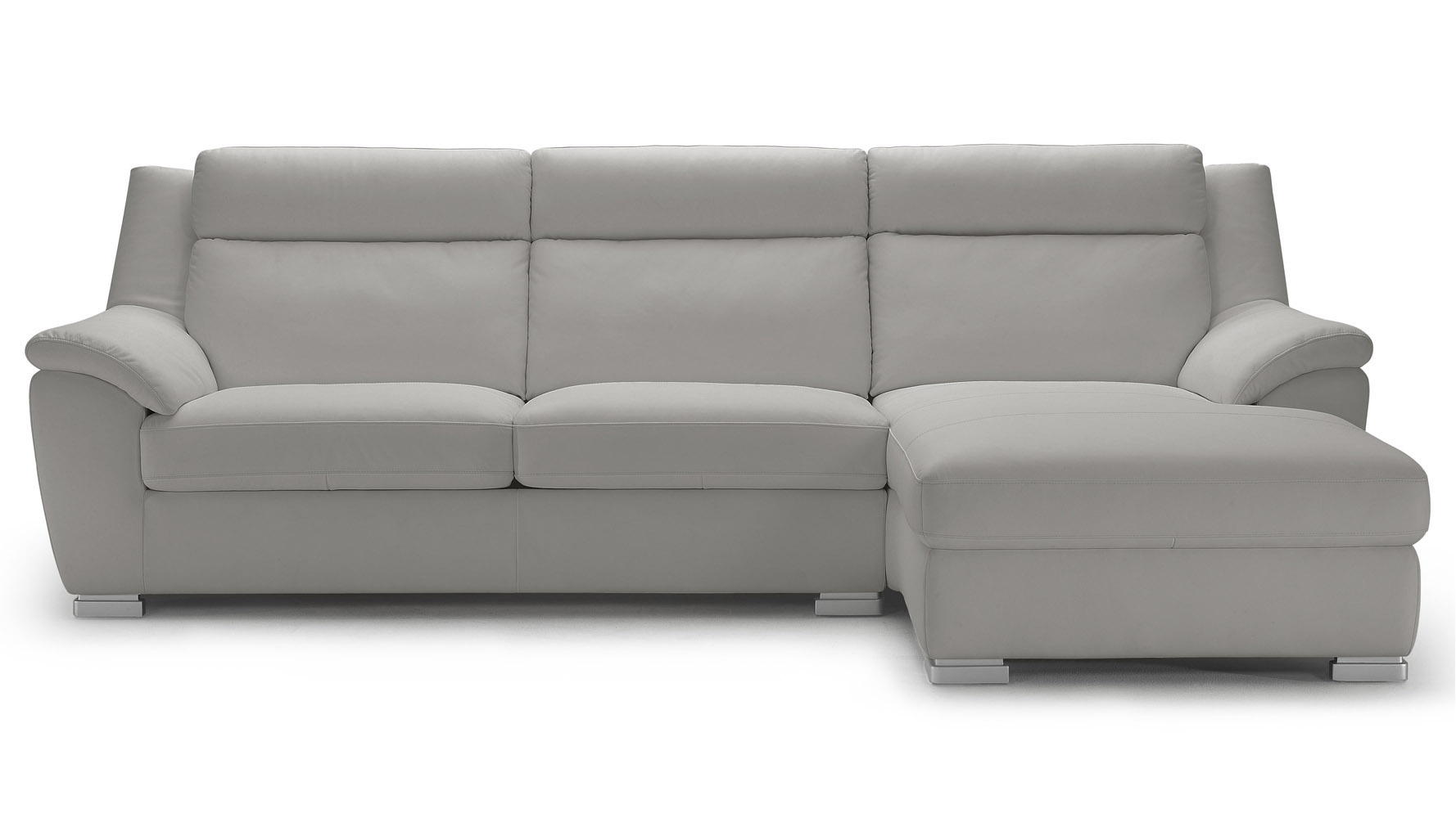 Leather Sectional Sleeper Sofa Chaise