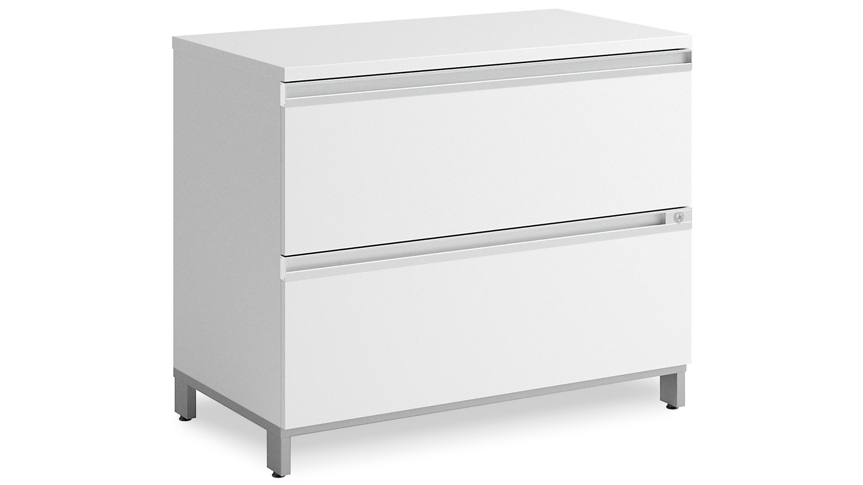 Modern Office BBF Momentum 2 Drawer Lateral File Cabinet
