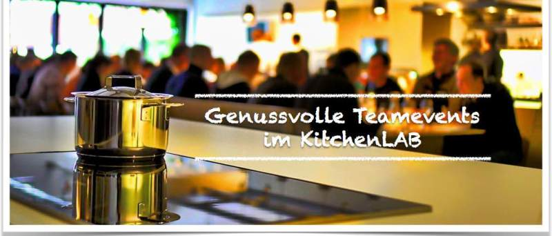 Cooking courses and events in Mainz: Cooking as an experience for teams of 5 to 250 people during company events, company outings or team trainings.