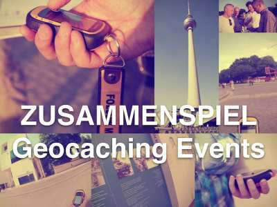 Geocaching als Teamevent: Garantiert mit ZUSAMMENSPIEL, auf Wunsch auch als Wettbewerb.