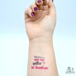 Kit de tatuajes temporales