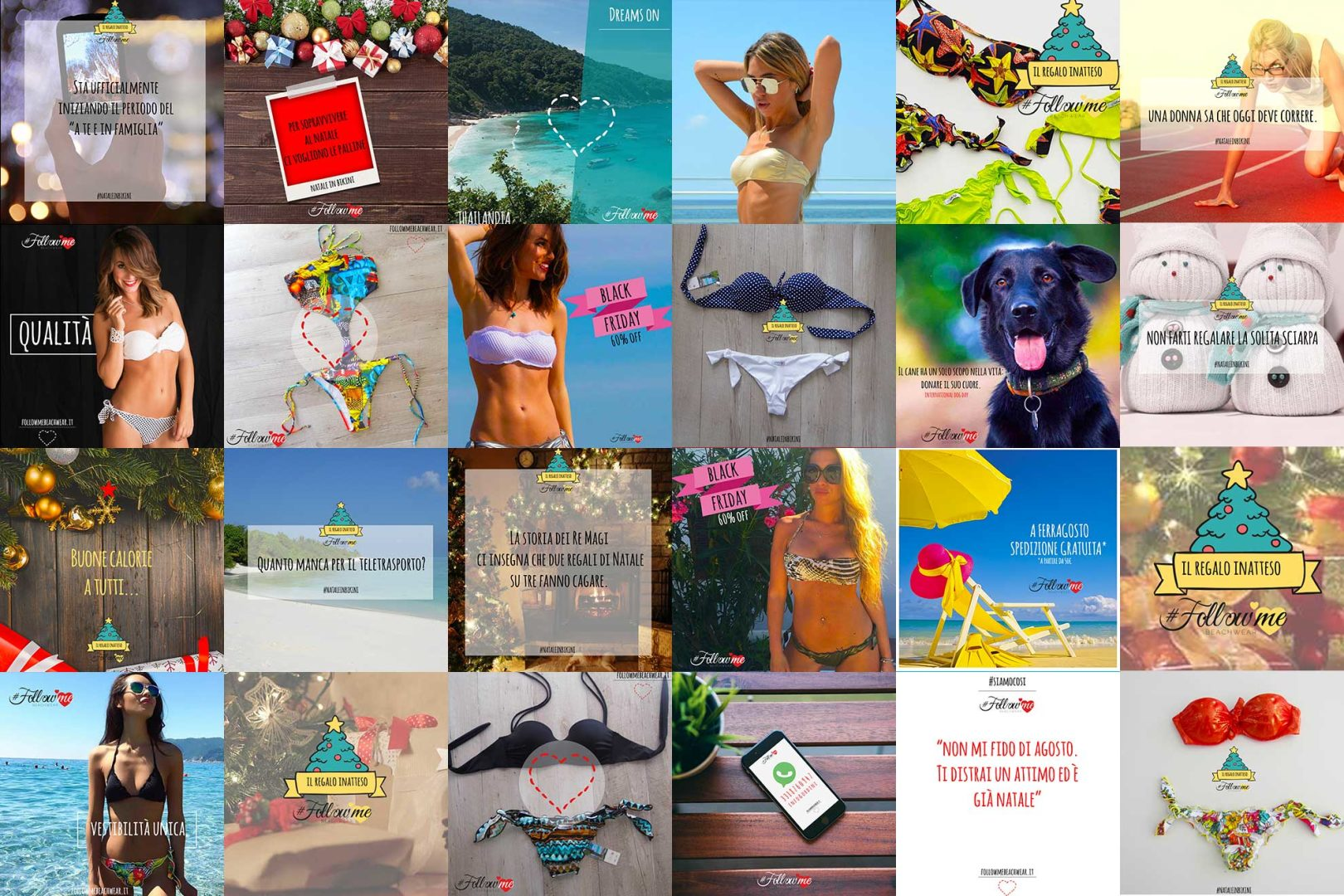 FollowMe Beachwear MOOD BOARD