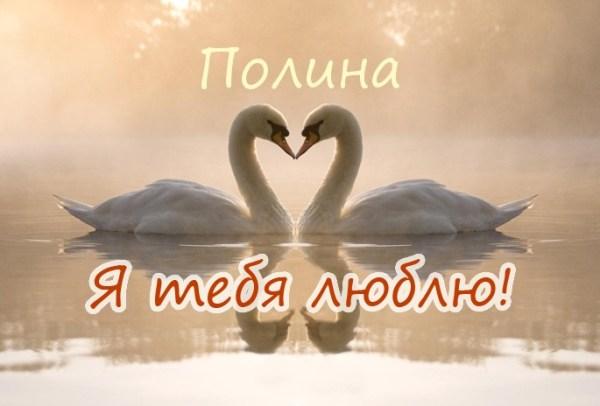 Я Тебя Люблю Полина Картинки