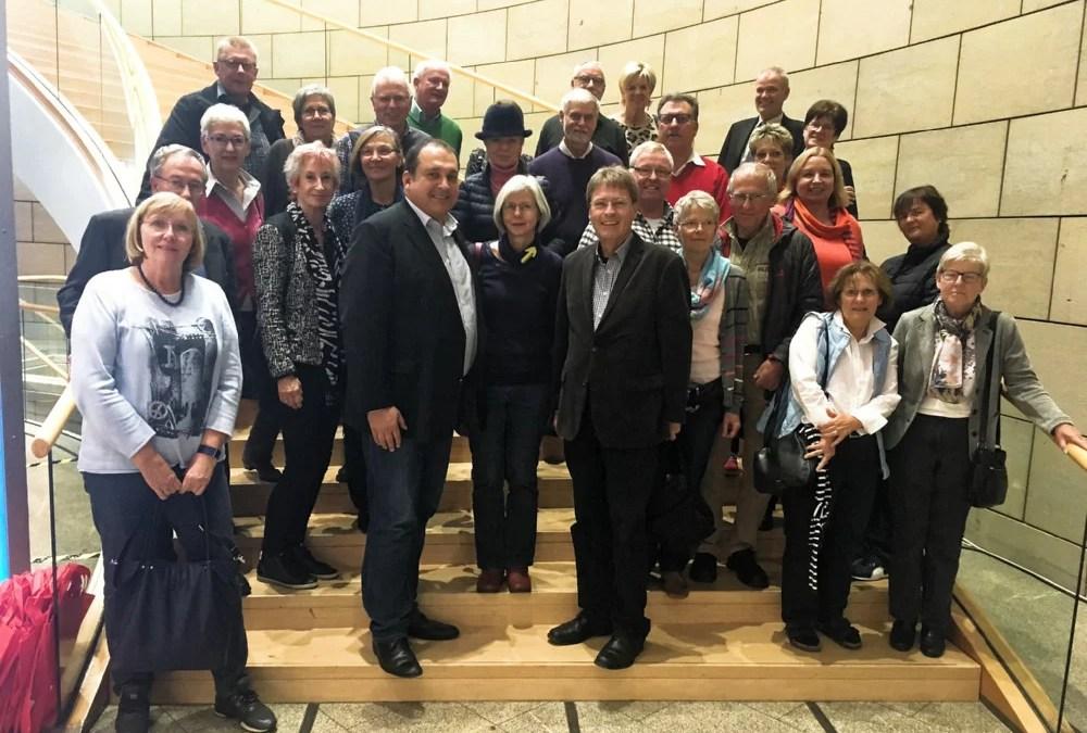 Besuch des Landtages in Düsseldorf
