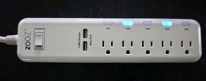 Z-Wave Plus Zooz Power Strip